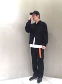 Keisuke Oobaさんの(FLAGSTUFF ヤエカ)を使ったコーディネート