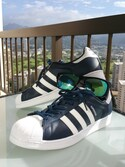 「adidas アディダス SUPERSTAR BOLD BLU/WHT(adidas)」 using this yu-sk looks