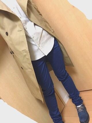 fuka.さんの「フロントキリカエシャツ(HARE)(HARE|ハレ)」を使ったコーディネート