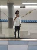 Ryohsukeさんの「ガウンシャツ(H&M|ザラ)」を使ったコーディネート