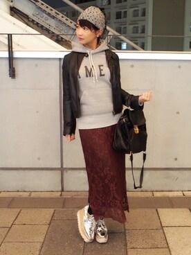 Akika Murataさんのコーディネート