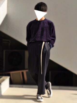 「CONVERSE  コンバース JACK PURCELL LIMITED  ジャックパーセルリミテッド  3226(CONVERSE)」 using this hrk looks