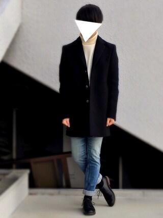 「【WEB限定】by ∴ レザー  5アイレット オックスフォード シューズ(BEAUTY&YOUTH UNITED ARROWS)」 using this hrk looks