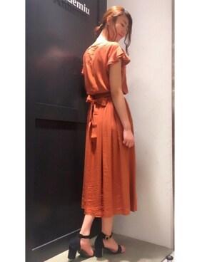 Andemiu 金沢フォーラス店|Satooooさんの「ストラップコンビサンダル751478(Andemiu)」を使ったコーディネート