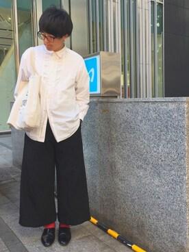 りゅーとさんの(HARUTA|HARUTA)を使ったコーディネート