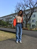 (Levi's) using this 紗英 looks