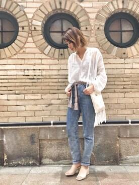 CANALJEAN 神戸店|yuriさんの(Bershka|ベルシュカ)を使ったコーディネート