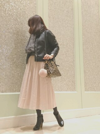 K☆AYAさんの「麻フレアスカート(Mila Owen ミラ オーウェン)」を使ったコーディネート