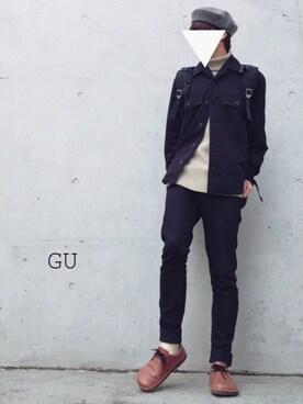 せんくんさんの(GU|ジーユー)を使ったコーディネート