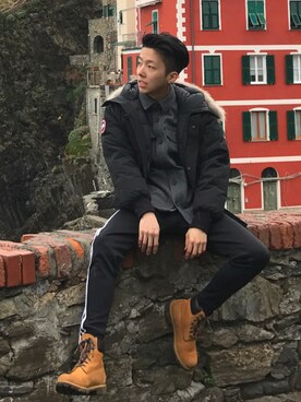 (CANADA GOOSE) using this Steve Wu looks