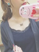 「DONT PANIC NAMEPLATE PNDNT(Marc by Marc Jacobs)」 using this yuuko ¨̮⑅* looks