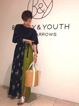 BEAUTY&YOUTH UNITED ARROWS|Shiori Maezawaさんの(BEAUTY&YOUTH UNITED ARROWS|ビューティアンドユースユナイテッドアローズ)を使ったコーディネート