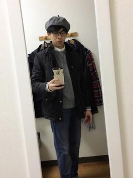 (ユニクロ) using this ロンマイケル looks