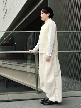 JUNRed グランフロント大阪 sotangさんの(Needles ニードルス)を使ったコーディネート