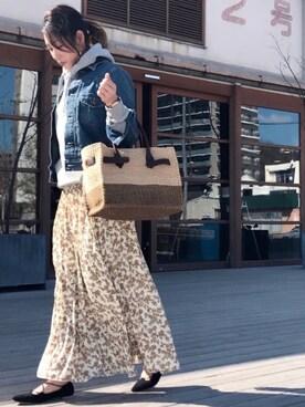 arisuさんの「デニムシーンズジャケット(TODAYFUL|トゥデイフル)」を使ったコーディネート
