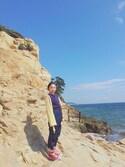 Reina  Ohnoさんの「Sonny Label サーマルプルオーバー(URBAN RESEARCH Sonny Label アーバンリサーチサニーレーベル)」を使ったコーディネート