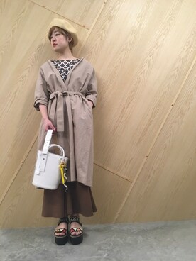 MIDWEST OSAKA|fujiiさんの(muller of yoshiokubo|ミュラー オブ ヨシオクボ)を使ったコーディネート