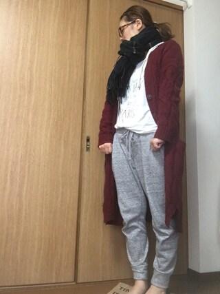 nami☆Yさんの「MAISON SCOTCH (メゾン スコッチ)  プリント ロングスリーブTシャツ(MAISON SCOTCH メゾンスコッチ)」を使ったコーディネート