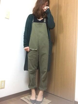 nami☆Yさんの「ポインテッドトゥローヒールパンプス(RANDA ランダ)」を使ったコーディネート
