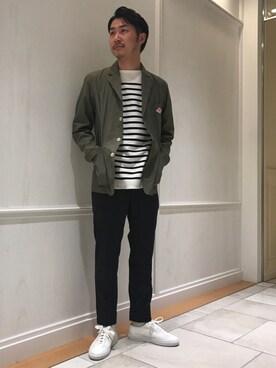 Bshop 有楽町ルミネ店|YOSHIOKAさんの「テーラードジャケット MEN(Danton)」を使ったコーディネート