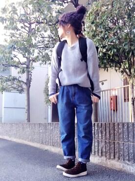 youkiさんの(GU|ジーユー)を使ったコーディネート