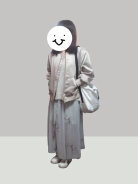 chyokkaiさんの「アンゴラVネックプルオーバー(FRAY I.D|フレイ アイディー)」を使ったコーディネート
