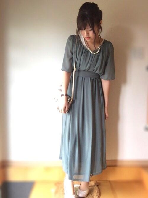 結婚式服装30代女性コーデ