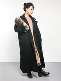 yukiさんの「オーバーサイズPジャケット(unrelaxing アンリラクシング)」を使ったコーディネート