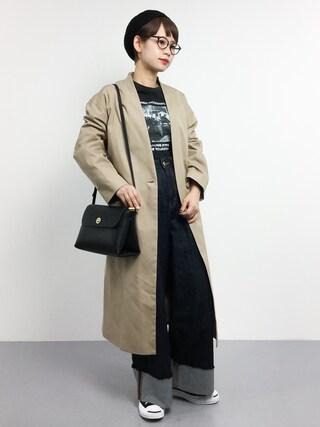 「ノーカラーライトコート_#(JOURNAL STANDARD)」 using this ZOZOTOWN|yuki looks