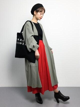「KBF+ リブ5分袖ニット(KBF+)」 using this ZOZOTOWN|yuki looks