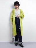 naoさんの「【KURO】 WIDE パンツ◆(KURO|クロ)」を使ったコーディネート