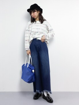 ZOZOTOWN|naoさんの「RT.MED.Couler-A(ROOTOTE|ルートート)」を使ったコーディネート