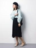 naoさんの「3Dジルプリーツスカート(UNITED TOKYO|ユナイテッドトウキョウ)」を使ったコーディネート