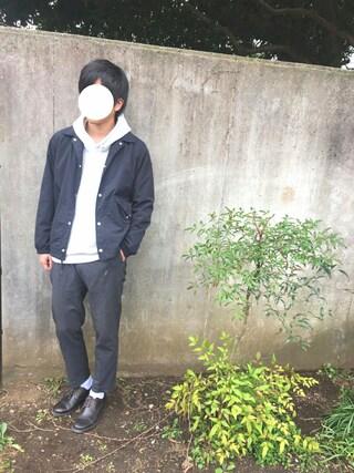takumaさんの「WEGO/カラー起毛ビッグプルパーカー(WEGO|ウィゴー)」を使ったコーディネート