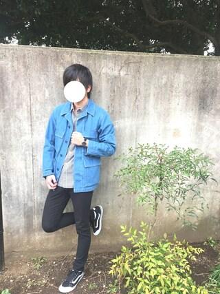 takumaさんの「WEGO/ギンガムチェックシャツ(WEGO|ウィゴー)」を使ったコーディネート