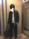 takumaさんの「Hanes × URBAN RESEARCH DOORS 3P-Tシャツ(URBAN RESEARCH DOORS MENS|アーバンリサーチ ドアーズ メンズ)」を使ったコーディネート