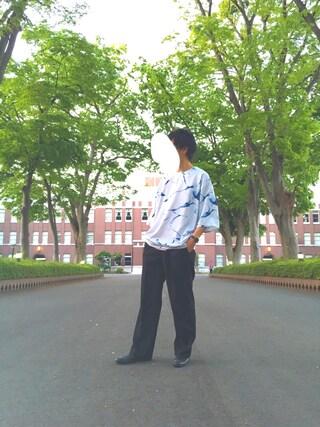 takumaさんの「SURFACEガラプルオーバー(HARE)(HARE|ハレ)」を使ったコーディネート