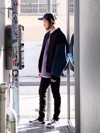 モンキータイム ビューティ&ユース ユナイテッドアローズ 原宿店|Kouta Horiuchiさんの「<PATERSON> SPCTRM 5PNL CAP/キャップ(MONKEY TIME|モンキータイム)」を使ったコーディネート