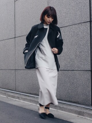 MariNakamuraさんの「ROUND ZIP OVER JK(RIM.ARK|リムアーク)」を使ったコーディネート