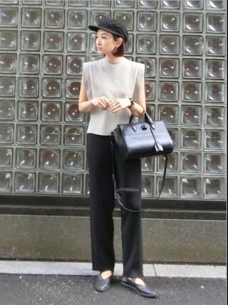 MariNakamuraさんの「SMOOTH EASY PT(RIM.ARK|リムアーク)」を使ったコーディネート