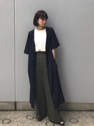 MariNakamuraさんの「SUMMER GOWN(RIM.ARK|リムアーク)」を使ったコーディネート