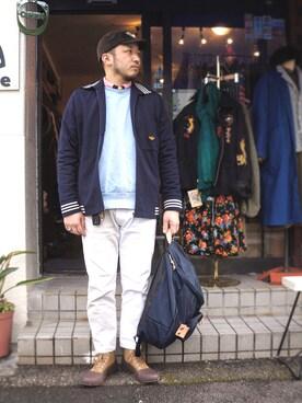 tortoise|yoheiさんの(80s アディダス)を使ったコーディネート