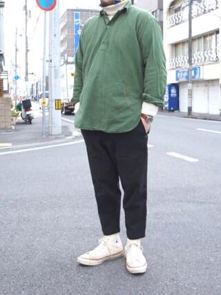 tortoise|yoheiさんの(TIGRE BROCANTE|ティグルブロカンテ)を使ったコーディネート
