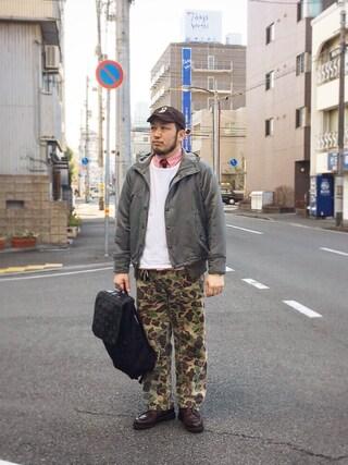 tortoise yoheiさんの(15jyugo ジューゴ)を使ったコーディネート