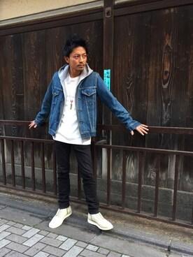 HYSTERIC GLAMOUR京都店|京都くんさんの(HYSTERIC GLAMOUR|ヒステリックグラマー)を使ったコーディネート