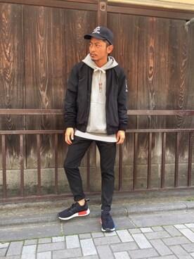 HYSTERIC GLAMOUR京都店|京都くんさんの(adidas|アディダス)を使ったコーディネート