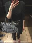 MM is wearing BALENCIAGA