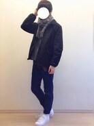 Mochiさんの「adidas アディダス SUPERSTAR スーパースター B27136 15SS WHT/WHT/WHT(adidas|アディダス)」を使ったコーディネート