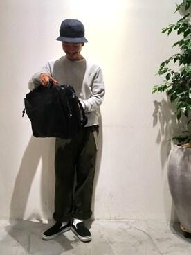 ハタノさんの「【P.P.P】MONACO/ワイドパンツ(CIAOPANIC TYPY チャオパニックティピー)」を使ったコーディネート