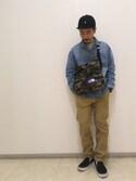 ハタノさんの(THE NORTH FACE PURPLE LABEL|チャオパニックティピー)を使ったコーディネート